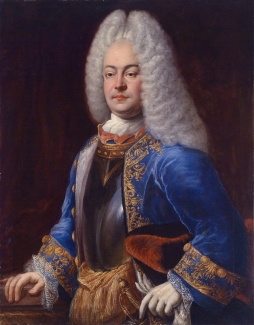 George Albert, Prince of East Frisia (1690-1734) *oil on canvas *97.8 x 76.2 cm *signed b.l.: Johann Conrad Eichler 1718