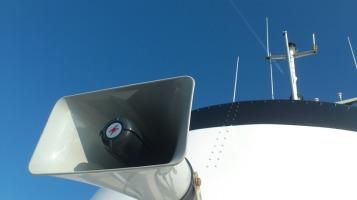 schiff-lautsprecher