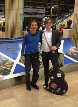 Am Flughafen von Tel Aviv