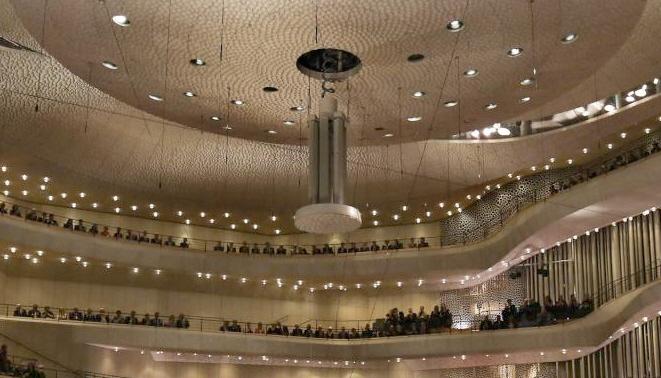 Die schwebenden Orgelpfeifen der Elbphilharmonie
