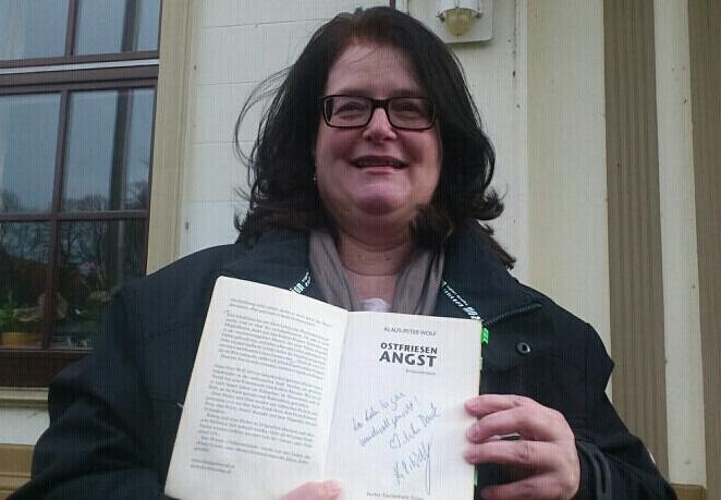 Susanne Roth mit Widmung