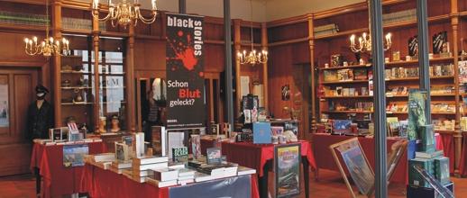 Deutschlands schönste Buchhandlung von innen.