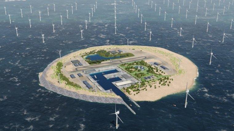 Windenergie / Power Link Island