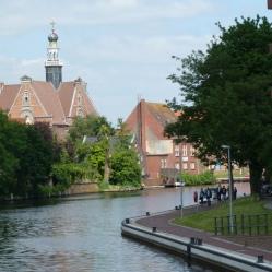 Emden - Kanaleinfahrt