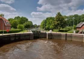 Kesselschleuse Ems-Jade-Kanal