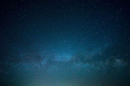 Himmel mit Sternschnuppen