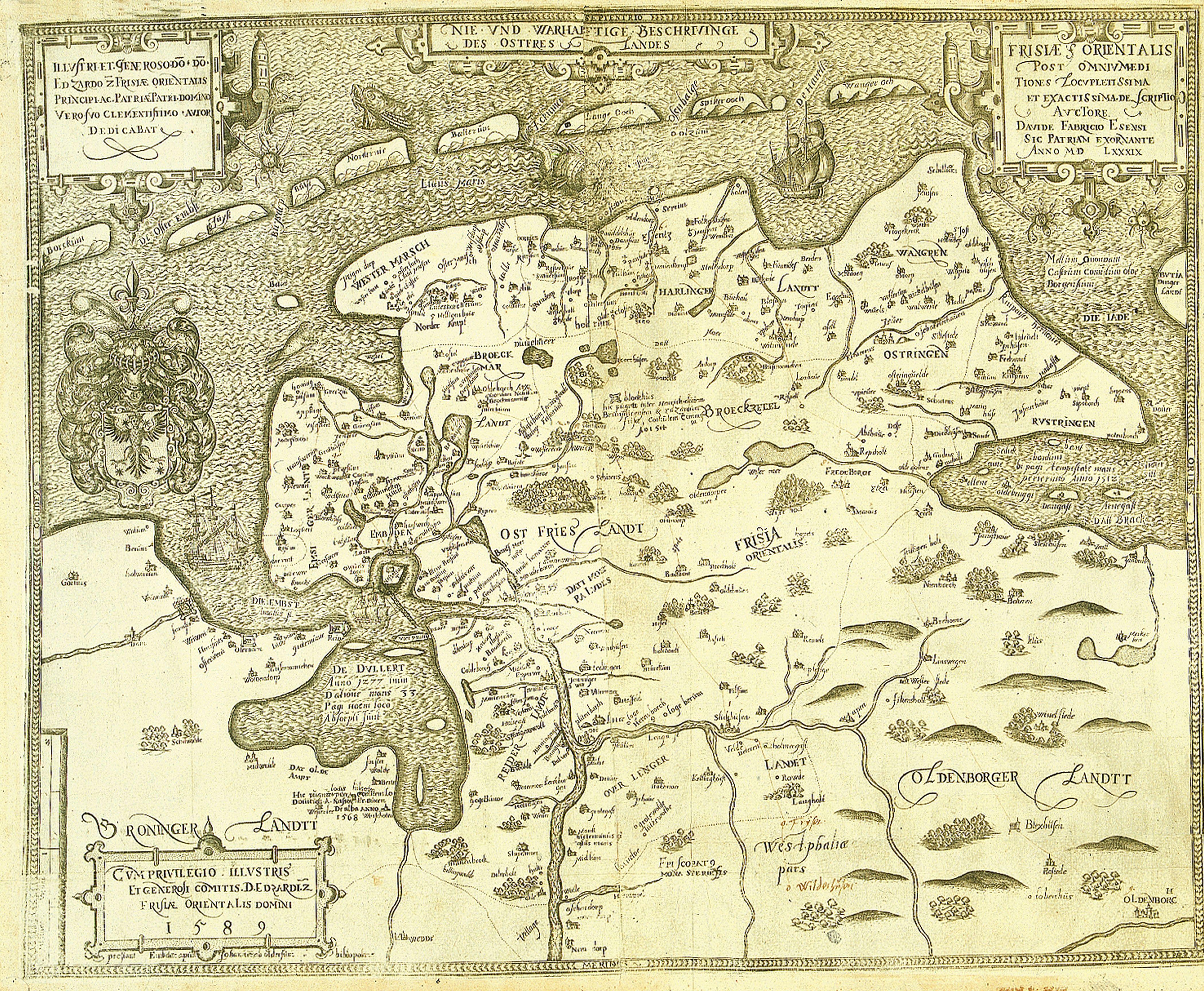 Ostfrieslandkarte_Fabricius 1589