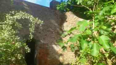 Innenmauer mit Tuerchen