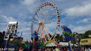 Riesenrad auf dem Schuetzenfest