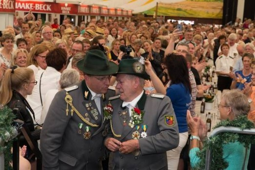 Schuetzenfest 2016-Koenig