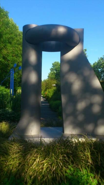 Skulptur Eingang