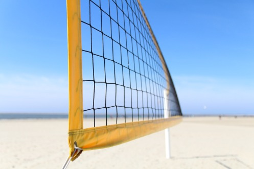 Titel Volleyballnetz
