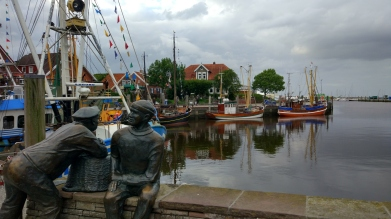 Hafen der Krabbenfischer.