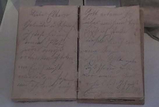 Original Tagebuch Tjark Evers