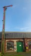 Eisenbahnmuseum hoch
