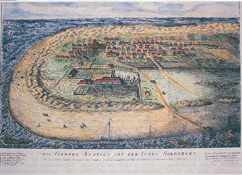 Norderney um 1840