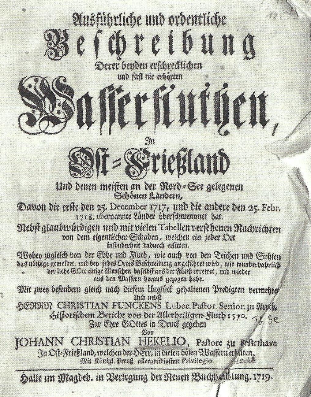 Hekelius Buch