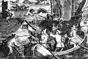 Szene 1 Weihnachtsflut 1717_Wikipedia