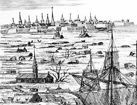 Szene 3 Weihnachtsflut 1717_Wikipedia