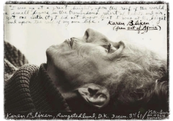 Karen-Blixen 1961