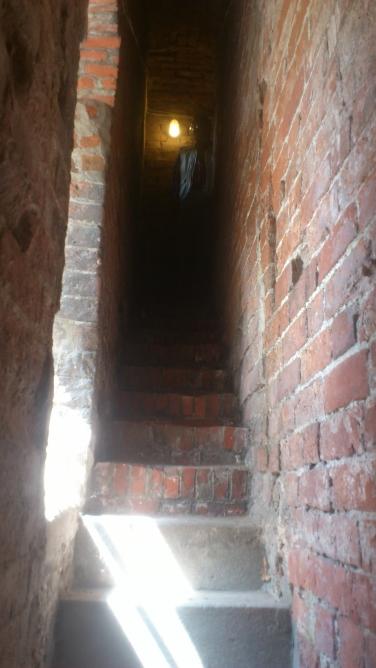 Eingang Erste Stufen