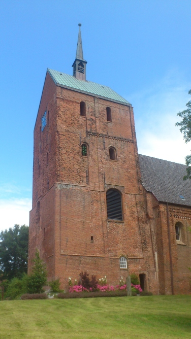 Kirchturm Totale