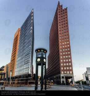 Potsdamer Platz Brick House_Stock