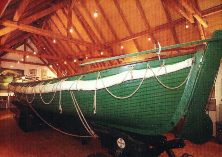 Borkum - Seenotrettung mit Ruderboot