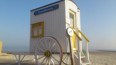 Strandkarren Wangerooge 2