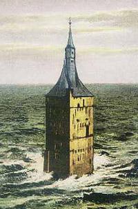 Alter Westturm in den Fluten