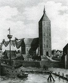 Marienkirche am Wasser.