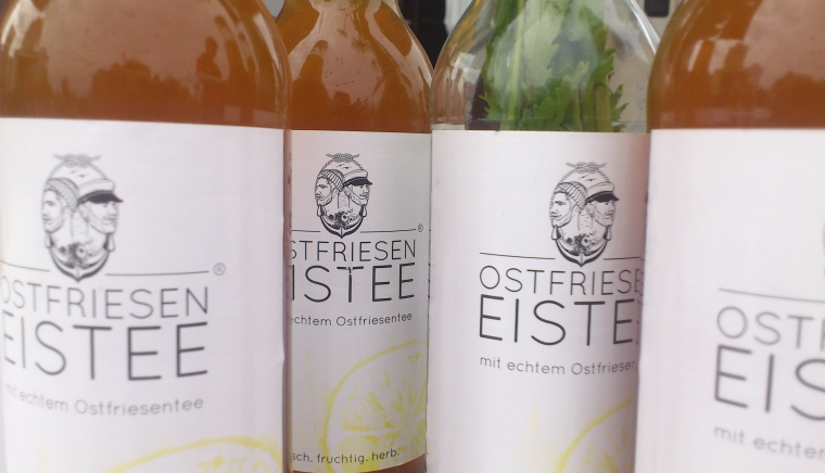 Eistee-Quartett