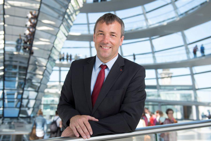Johann Saathoff_Portrait Reichstagskuppel