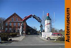 Automobilmuseum Einfahrt