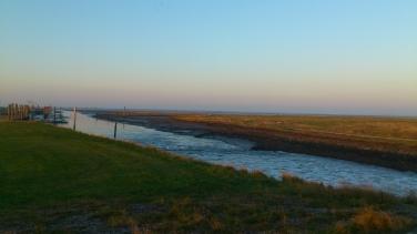 Der Naturhafen von Neßmersiel.