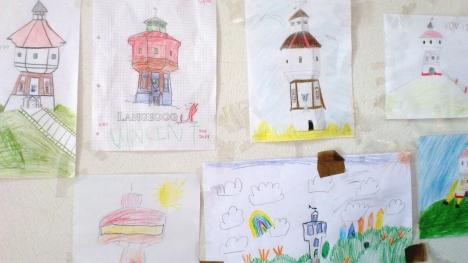 Kinderbilder Wasserturm