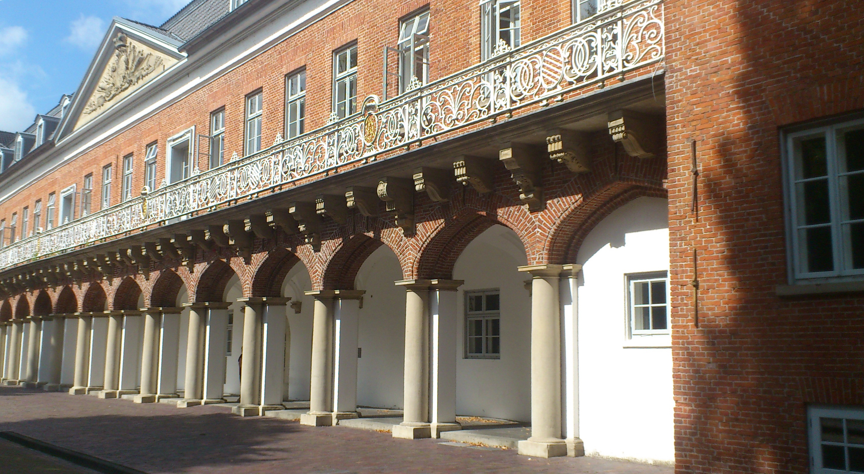 Schloss in Aurich heute