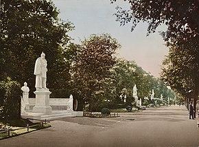 Berlin_Siegesallee_um_1900