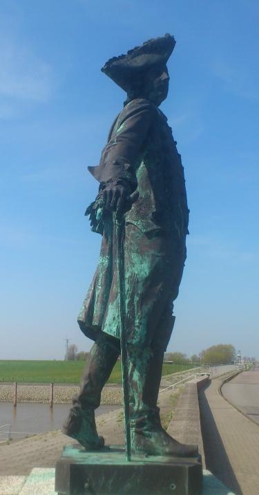 An der Knock: In Bronze.