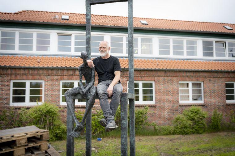 Hannes Helmke Skulptur an der Hermann Lietz Schule_1